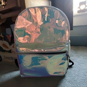 Girls holographic backpack